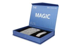 Garzini Gift Box met Metaalgrijze Magic Wallet en Sleutelhanger