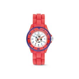 Rood KIDZ Horloge met Blauwe Rand van Colori Junior