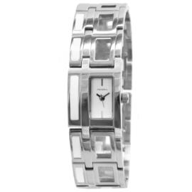 Prisma Klassiek Rechthoekig Dames Horloge van Edelstaal