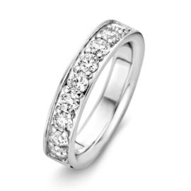 Excellent Jewelry Witgouden Ring met 1,07crt. aan Briljanten