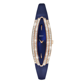 Sekonda Roségoudkleurig SEKSY Dames Horloge met Zirkonia's