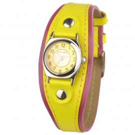 Cool Watch CW62305 Purple Border Yellow