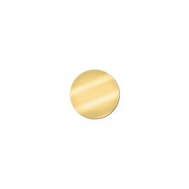 MY iMenso Spiegel Glas Insignia Munt van 14mm met Goudtint