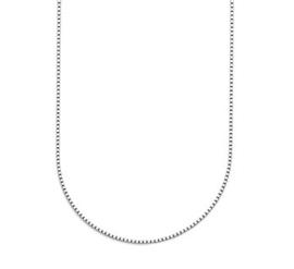 Zilveren Collier Venetiaans 1,4 mm 45 cm
