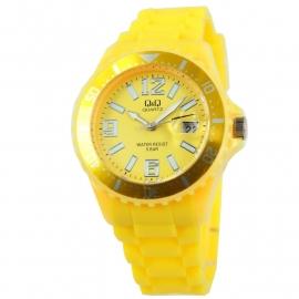 Geel Horloge / Q&Q Horloges