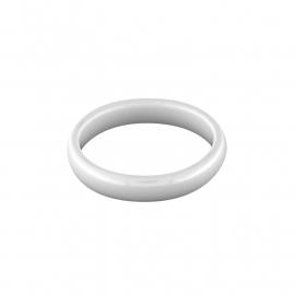 Witte Egale Ring van Keramiek van MY iMenso