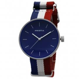 Prisma Horloge Unisex Simpel Blue Nato P.1246.36WG