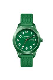 Lacoste Groen Kids Horloge met Groene Silicone Horlogeband