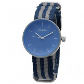 Prisma Horloge Unisex Simpel Licht Blauw Nato P.1244.25WG