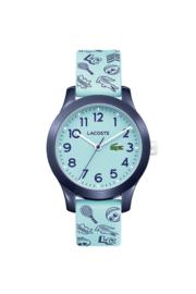 Speels Lacoste Lichtblauw Kids Horloge met Meerdere Decoraties