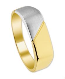 Heren Ring van Witgoud en Geelgoud