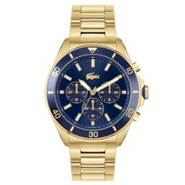 Lacoste Goudkleurig Tiebreaker Horloge voor Heren
