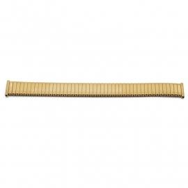 Horlogeband 385009 Fixoflex ROWI Edelstaal Goud 18mm GA