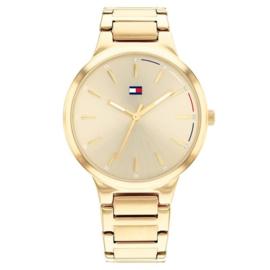Tommy Hilfiger Bella Goudkleurig Dames Horloge