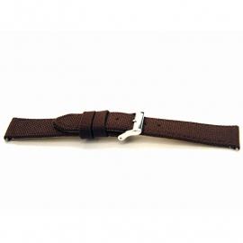 Horlogeband G386 Nylon Bruin 20x18mm