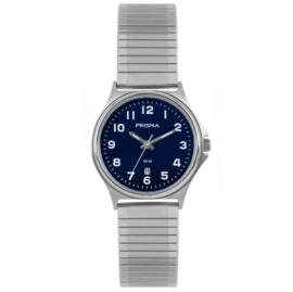 Prisma Horloge Dames Rekband 5 ATM Blauw