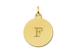 Gouden Initialen Letter Hanger | Names4ever
