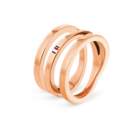 Tommy Hilfiger Driedubbele Dames Ring / 17,25mm (ringmaat 54)