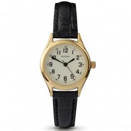 Sekonda Dames Horloge / Zwart leren band SEK.4243