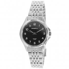 Prisma Horloge P.1551 All Stainless Steel Saffierglas