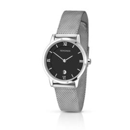 Sekonda Zilverkleurig Dames Horloge met Milanese Band