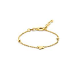Goudkleurige Armband met Vlinder voor Meisjes