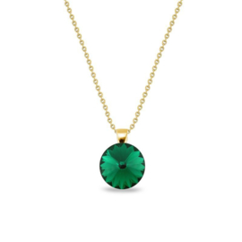 Spark Candy Gilded Ketting Emerald