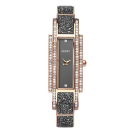 Sekonda Roségoudkleurig SEKSY Dames Horloge met Sier Diamanten
