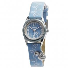 Lisette Kids Horloge met Blauwe Horlogeband en Bedeltje