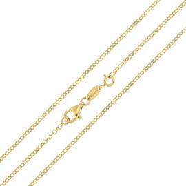 Goudkleurige Jasseron Schakel Ketting van MY iMenso / 92cm