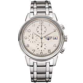 Vintage Chrono Heren Horloge van Elysee