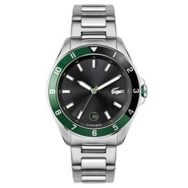 Lacoste Tiebreaker Zilverkleurige Horloge Heren LC2011129