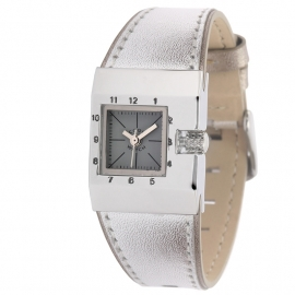 Cool Wacht Horloge CW110016 Square Stripes Silver