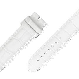 MY iMenso Quartz Wit leren Horlogeband