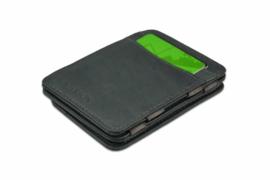 Luxe Grijze Magic Wallet RFID Portemonnee van Hunterson