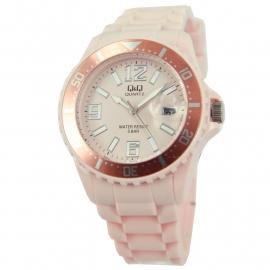 Lichtroze Horloge / Q&Q Horloges