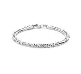 Zilveren Armband Gourmet 4,8 mm 18 cm