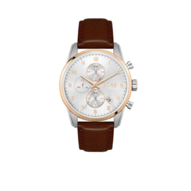 Hugo Boss Horloge Skymaster Zilverkleurig Horloge van Boss