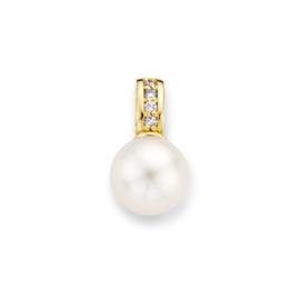 Excellent Jewelry Geelgouden Parelhanger