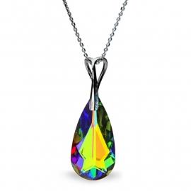Teardrop Regenboog Swarovski Hanger van Spark Jewelry