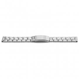 Horlogeband YH08 Schakelband Edelstaal 22x18 mm