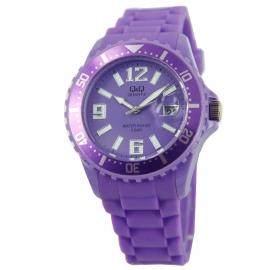 Paars Horloge / Q&Q Horloges