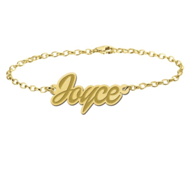 Joyce Armband van Goud met Naamhanger > Names4ever
