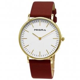 Prisma Horloge Note / Rood Horlogeband 1620.701G