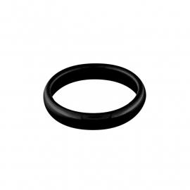 Zwarte Ring van Keramiek van MY iMenso / Maat 8,5