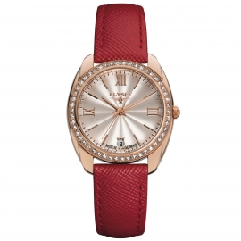 Elysee Dames EL.28602 Diana Horloge Edelstaal Saffierglas