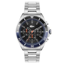 Lacoste Sportief Stalen Tiebreaker Horloge voor Heren