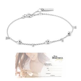 Modern Drop Balls Bracelet van Ania Haie + Cadeaubon t.w.v. € 10,00 | Gift Set