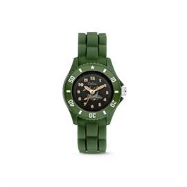 Groen KIDZ Horloge met Straaljager van Colori Junior