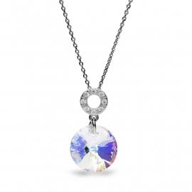 Xilion Disc Swarovski Ketting van Spark Jewelry